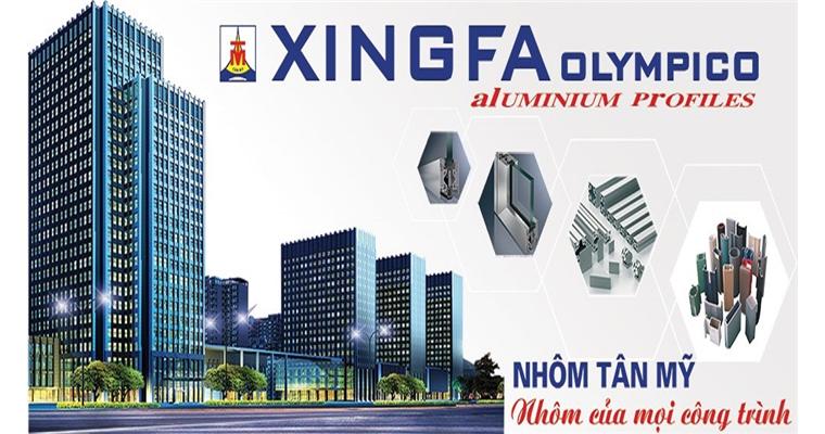Cửa nhôm Xingfa Olympico