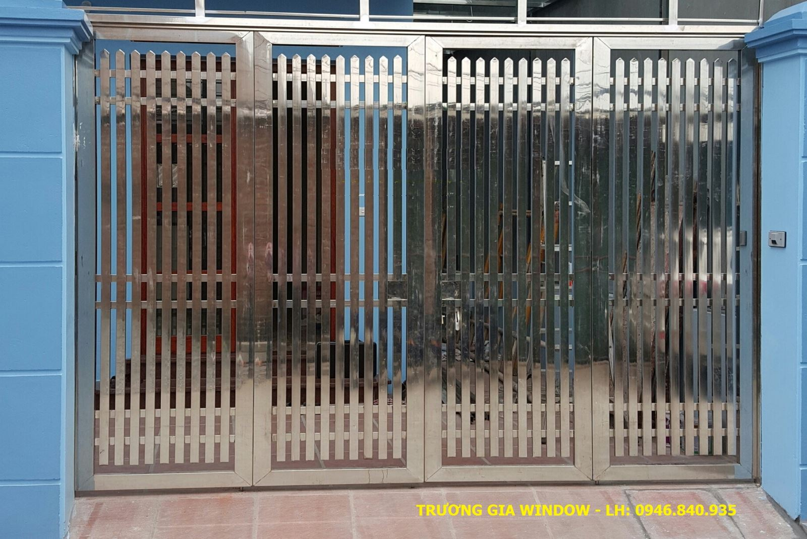 cổng inox cao cấp