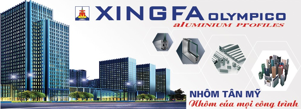 Cửa nhôm Xingfa, Cửa nhôm Xingfa Olympico, Cửa nhôm Xingfa Việt nam