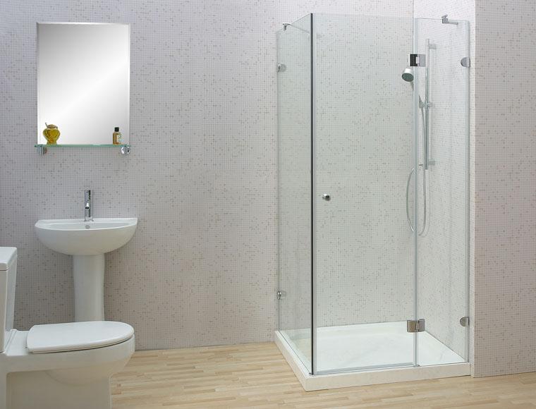 Ca bin, phòng tắm kính