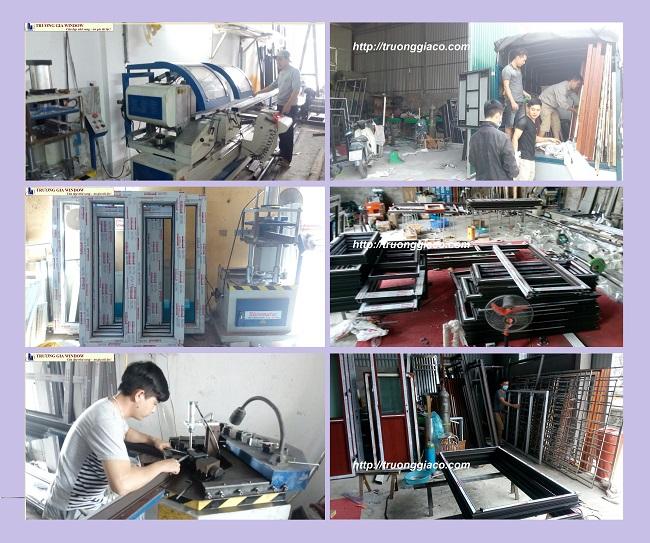 Sản xuất thi công cửa nhôm Xingfa tại Hà nội