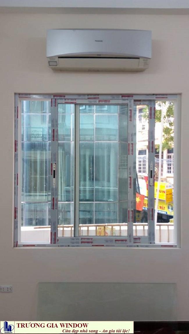 cửa sổ lùa 2 cánh xingfa hệ 55