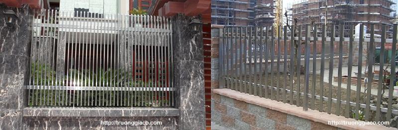 Hàng rào inox 304, hàng rào bảo vệ
