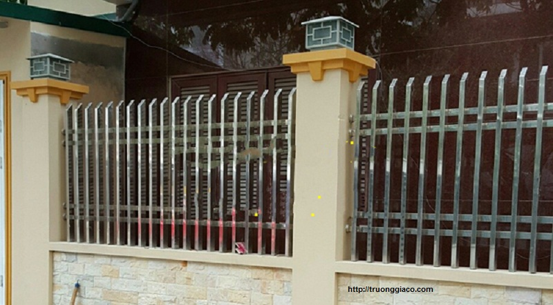 Hàng rào đẹp, hàng rào sắt thép inox